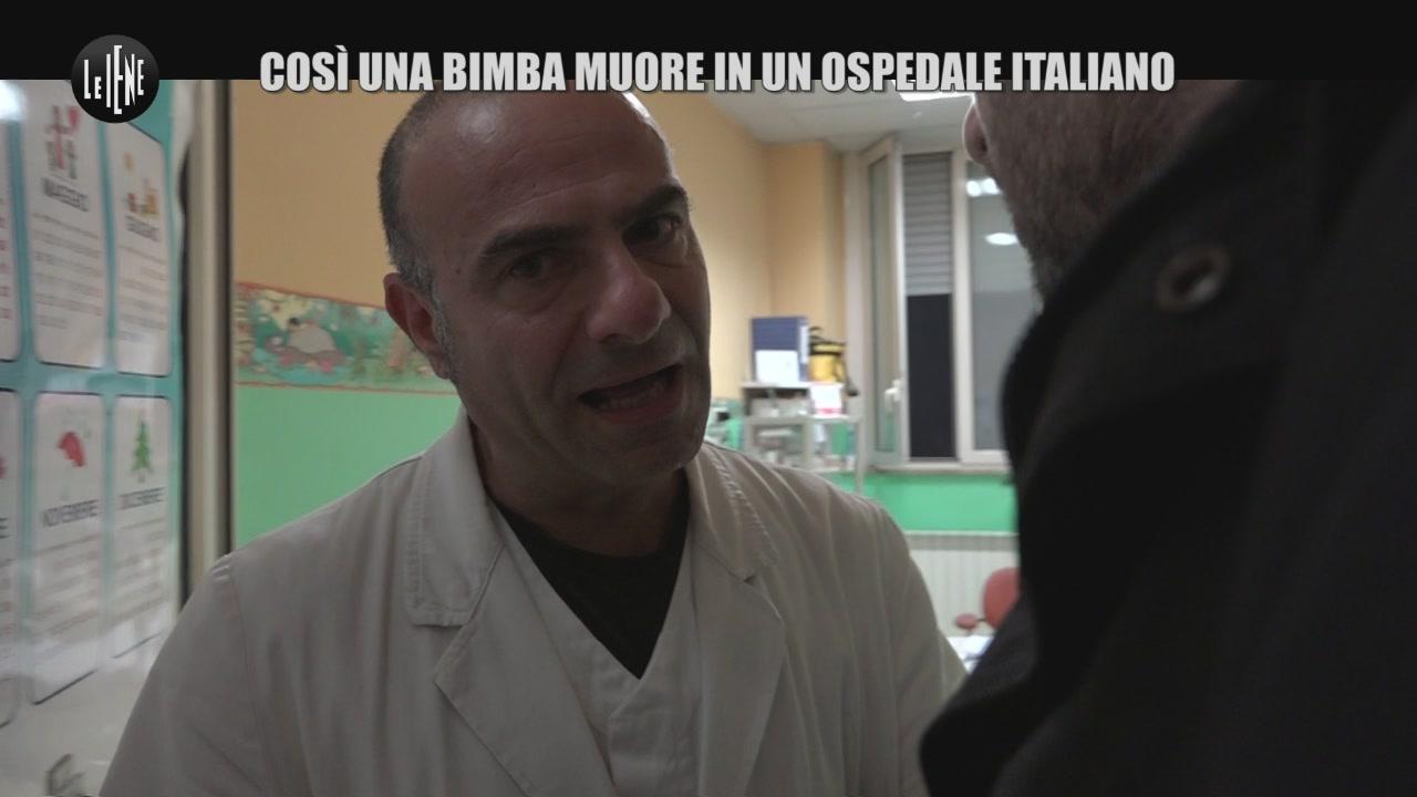 PECORARO: Così una bimba muore in un ospedale italiano