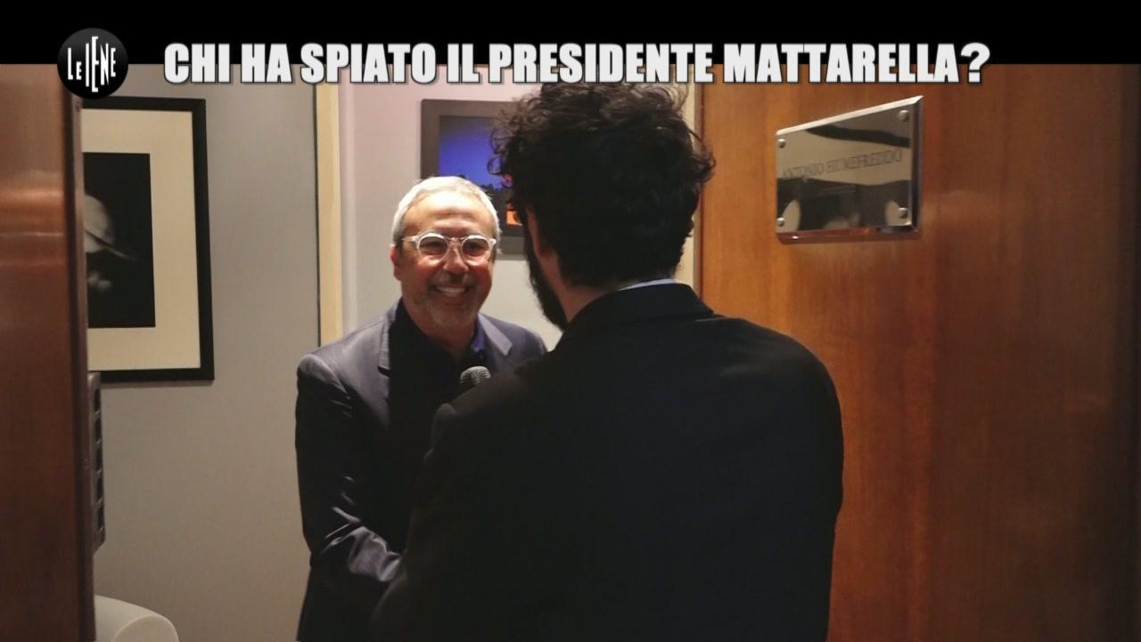 GIARRUSSO: Chi ha spiato il Presidente Mattarella?