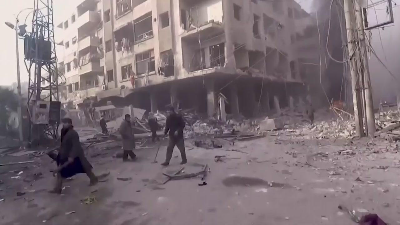"L'appello: ""Aiutateci: qui a Douma, in Siria, è un massacro"""