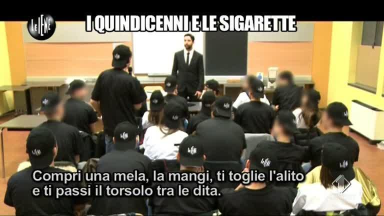 TRINCIA: Sigarette e minori