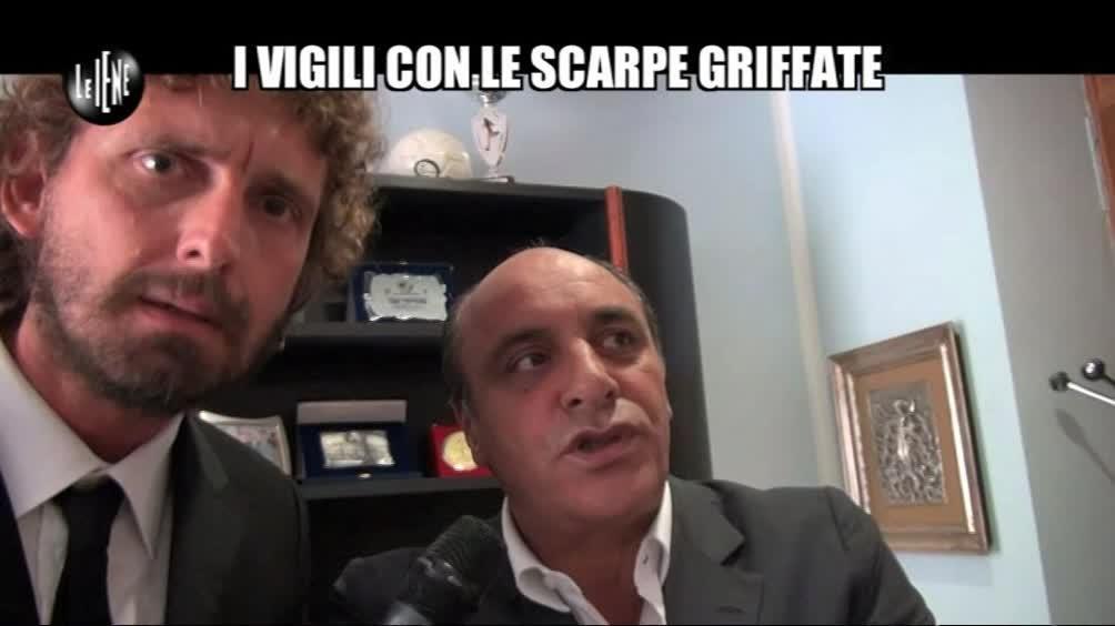 ROMA: I vigili con le scarpe griffate