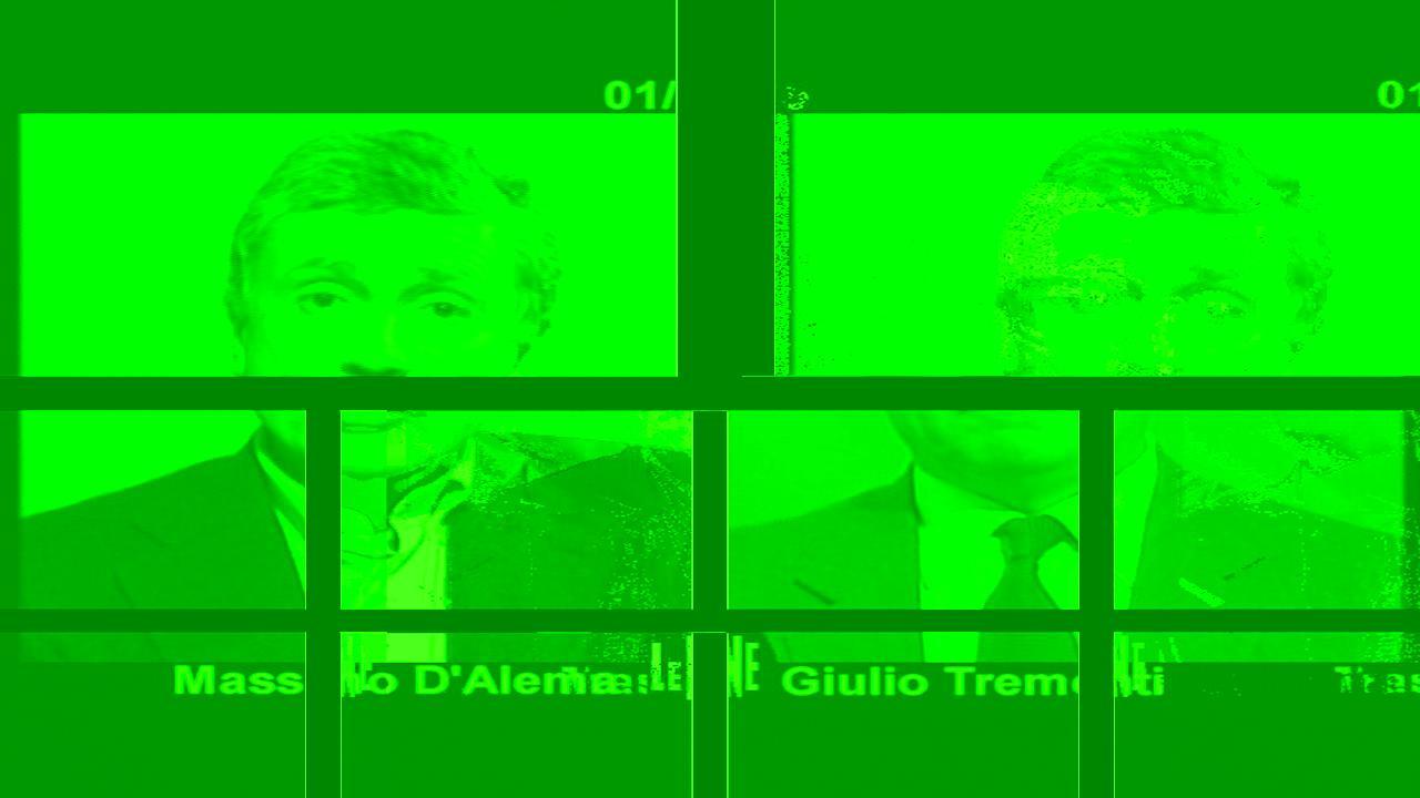 INTERVISTA: Massimo D'Alema e Giulio tremonti