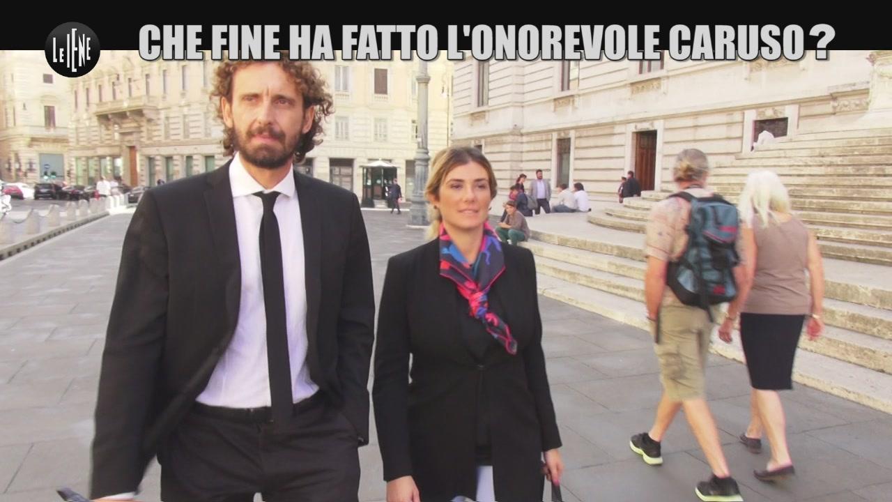 ROMA: Che fine ha fatto l'Onorevole Caruso?
