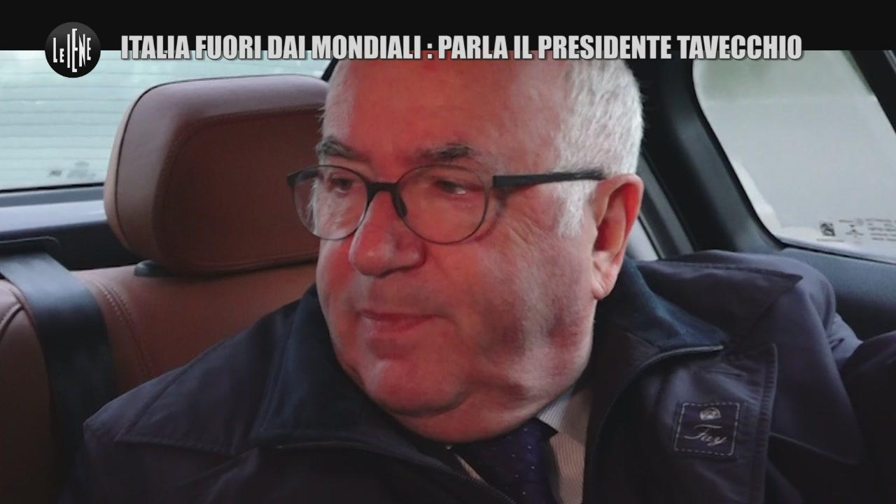 DE DEVITIIS: Italia fuori dai Mondiali: Parla il Presidente Tavecchio
