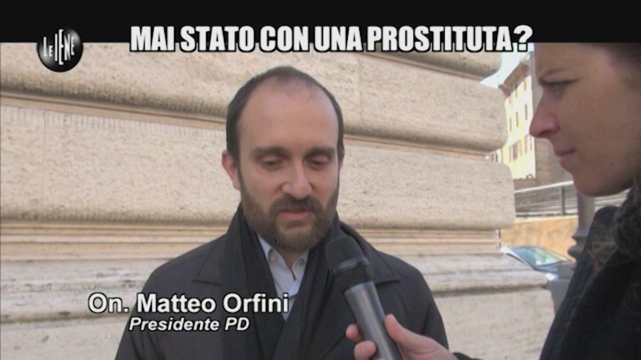 NOBILE: Mai stato con una prostituta?