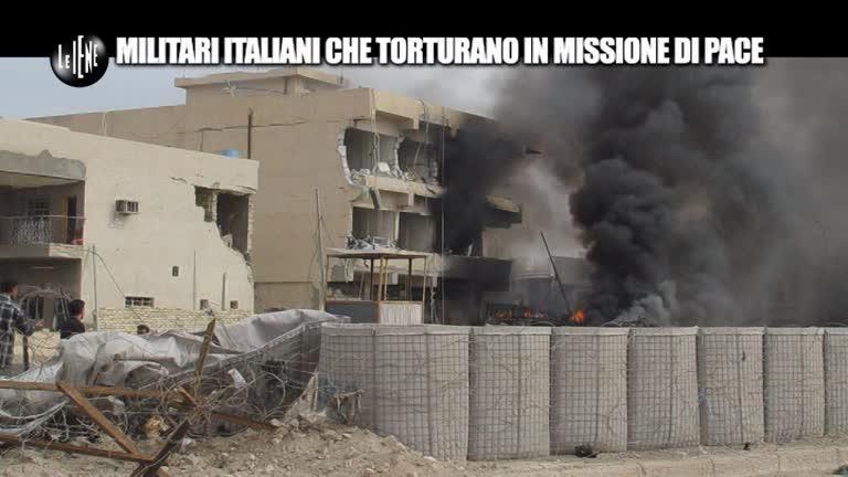 PELAZZA: Militari italiani che torturano