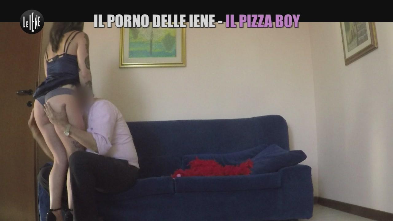 CIZCO: Il porno delle Iene - Il pizza boy