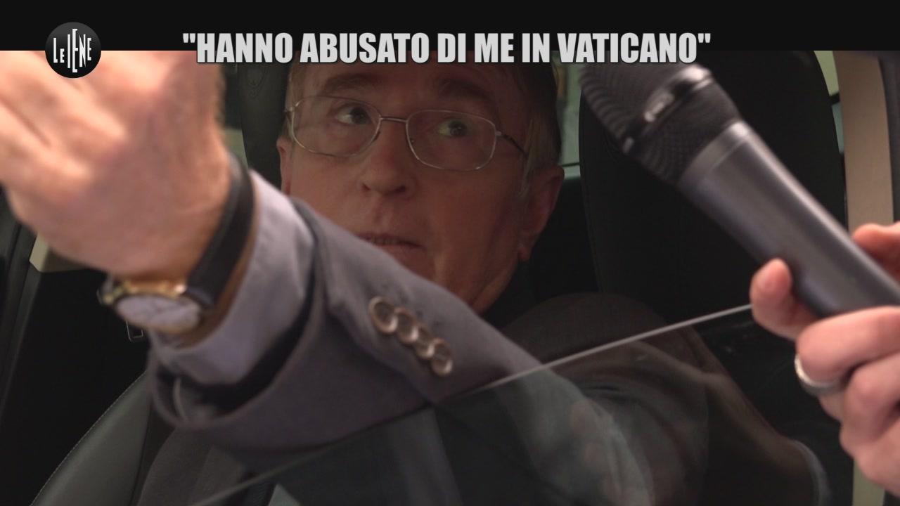 """PECORARO: """"Hanno abusato di me in Vaticano"""""""
